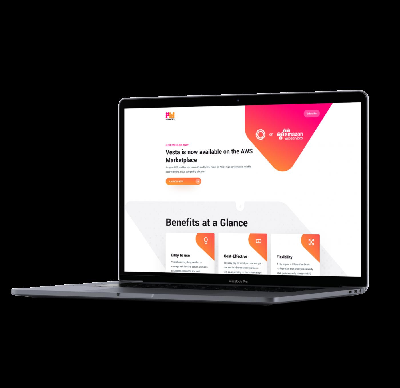 Vesta CP on AWS Marketplace